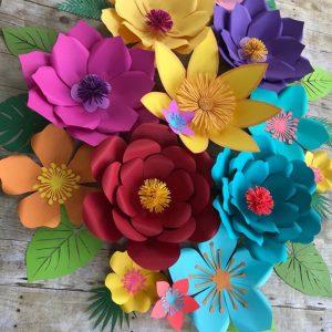 set flores 14 flores